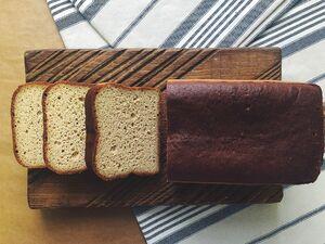 фото SASHA BREAD BAKERY Горошковый тостовый безглютеновый 400 г*