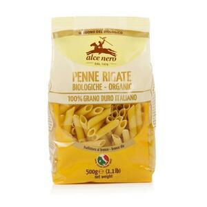 фото ALCE NERO Макароны Penne Rigate из пшеничной муки семолины 500 г