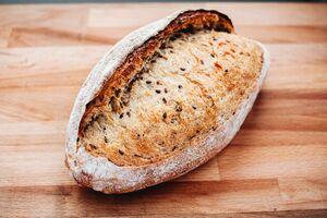 фото SASHA BREAD BAKERY Хлеб льняной 430 г