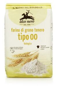 "фото ALCE NERO Мука пшеничная особо тонкого помола ""00""  1кг"