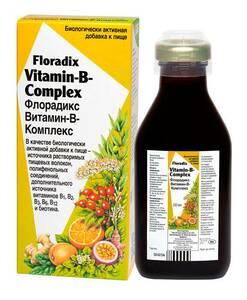 фото FLORADIX БАД Витамин-В-Комплекс 250 мл
