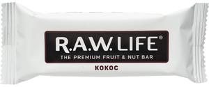 фото R.A.W. LIFE Батончик орехово-фруктовый Кокос 47 г