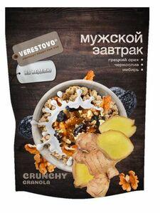 фото VERESTOVO Кранчи-гранола с грецким орехом, черносливом и имбирем 300 г