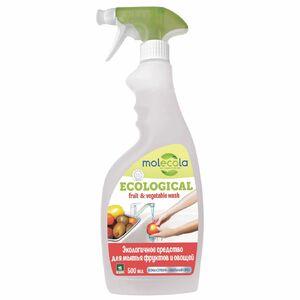 фото MOLECOLA Средство для мытья фруктов и овощей экологичное 550 мл