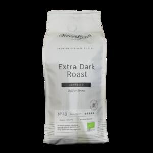 фото SIMON LEVELT Кофе натуральный жареный в зернах экстра сильной обжарки ESPRESSO смесь Арабика и Робуста 500 г