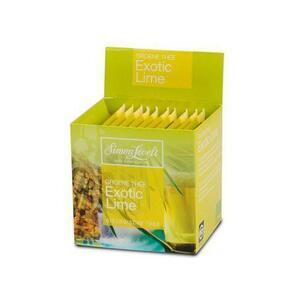 фото SIMON LEVELT Чай зеленый Exotic Lime пакетированный 10*1,75 г*