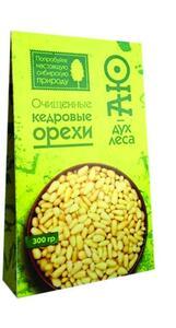 фото Орех кедровый(очищенный) пакет в коробке АЮ ДУХ ЛЕСА 300г