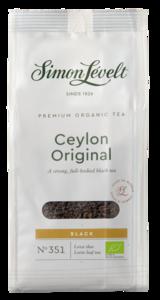 """фото SIMON LEVELT Чай чёрный """"Ceylon Original"""" ORGANIC Premium 90 г"""
