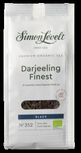 """фото SIMON LEVELT Чай чёрный """"Darjeeling Finest"""" ORGANIC Premium 90 г"""
