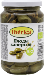 фото IBERICA BIO Плоды каперсов ст/б 370 г