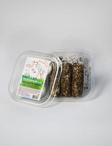 фото КФХ ХРАМЦОВА Сыр творожный поленца в травах из козьего молока