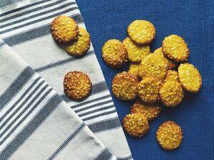 фото SASHA BREAD BAKERY Кунжутное печенье в стакане, 80г*
