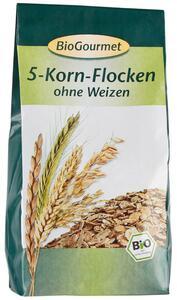 фото BIOGOURMET Хлопья из 5 видов зерновых 400 г