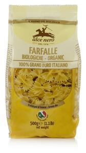 фото ALCE NERO Макаронные изделия Farfalle из твердых сортов пшеницы 500 г