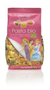 фото DALLA COSTA Макаронные изделия Дисней фигурные со шпинатом и томатом Принцесса 300 гр