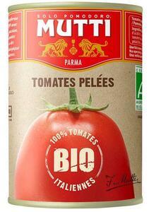 фото MUTTI Томаты очищенные целые в томатном соке БИО ж/б 425 мл