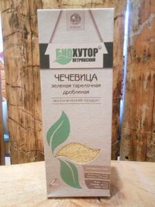 фото Крупа чечевицы зелёной БИОХУТОР ПЕТРОВСКИЙ 300г