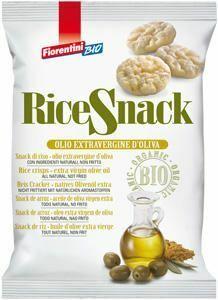 фото FIORENTINI BIO Снеки рисовые с оливковым маслом экстраверджине 40 г