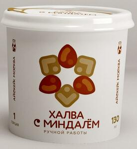 фото АЙСКЕЙК ЭКО Мороженое халва с миндалем 130 мл