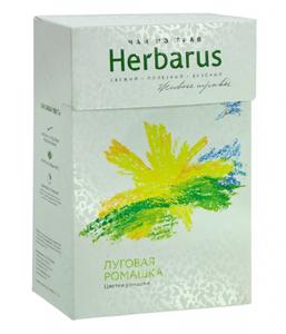фото HERBARUS Чай из трав Луговая ромашка 40 г