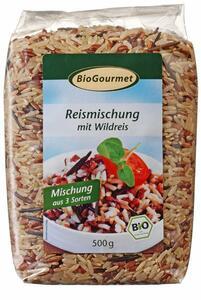 фото BIOGOURMET Смесь рисовая с диким рисом 500 г