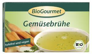 фото BIOGOURMET Бульон овощной в кубиках упаковка 8 шт