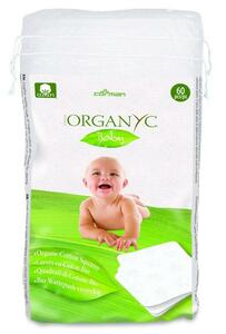 фото ORGANYC Ватные подушечки из органического хлопка Детские 60 шт