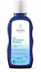 фото WELEDA Средство очищающее освежающее для нормальной и смешанной кожи '2 в 1' 100 мл