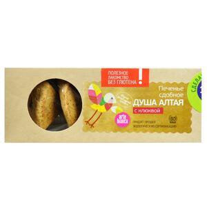фото ARTE BIANCA Печенье сдобное Душа Алтая без глютена с клюквой 160 г*