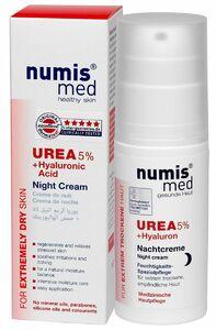 фото NUMIS MED Ночной крем С 5% мочевиной и гиалуроновой кислотой 50 мл