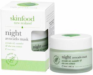 фото SKINFOOD Ночная маска для лица С авокадо