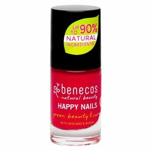 фото BENECOS Лак для ногтей тон Винтажный красный 5 мл