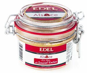 фото EDEL Печень утиная цельная, ручной работы (стекло) 120 г