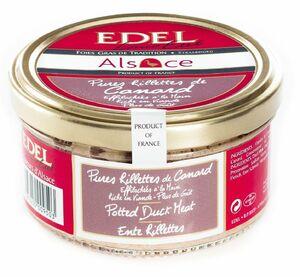 фото EDEL Рийет из мяса утки 100%, ручной работы (стекло) 140 г