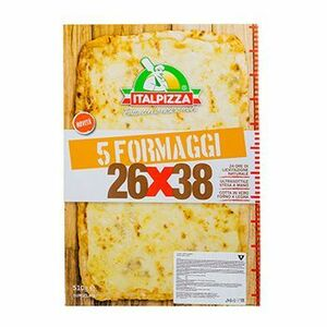фото ITALPIZZA Пицца 5 сыров (Италия) з/м 510 г