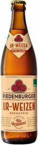 фото РИДЕНБУРГЕР УР-ВАЙЦЕН БЕРНШТАЙН Пиво светлое нефильтров., Германия, алк. 5,4% 0,5 л