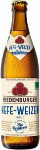 фото РИДЕНБУРГЕР ХЕФЕ-ВАЙЦЕН ХЕЛЬ Пиво светлое нефильтров., Германия, алк. 5,2% 0,5 л