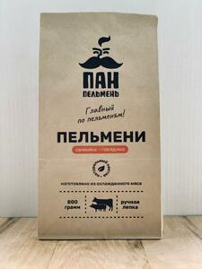фото ПАН ПЕЛЬМЕНЬ Пельмени свинина-говядина 800 гр.