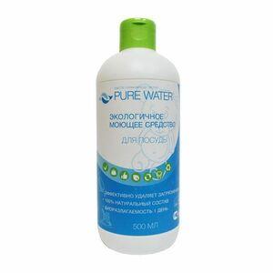 фото PURE WATER Средство для мытья посуды гипоаллергенное 450 мл*