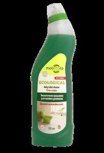 фото MOLECOLA Средство для чистки унитазов и сантехники Зелёный можжевельник экологичное 750 мл