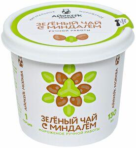 фото АЙСКЕЙК ЭКО Мороженое зеленый чай с миндалем 130 мл