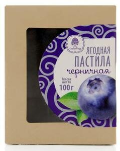фото Ягодная пастила черничная СИБИРСКИЙ КЕДР 100г