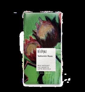фото VIVANI Шоколад молочный с дроблёным лесным орехом 100 г