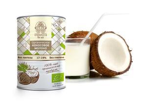 фото ORGANICA FOR ALL Молоко кокосовое 400 мл