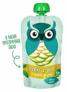 фото PEEK-A-BOO Пюре яблоко-груша с 5 мес 113 г