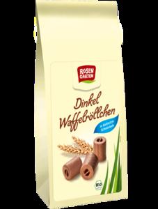 фото ROSENGARTEN Вафельные трубочки в молочном шоколаде 200 г