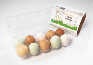 фото КФХ ХРАМЦОВА Яйцо куриное фермерское 10 шт