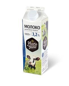 фото УГЛЕЧЕ ПОЛЕ Молоко пастеризованное 3,2%
