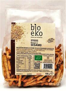 фото EKO BIO Гриссини из цельн. пшеничной муки с кунжутом 125 г