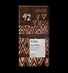 фото VIVANI Шоколад горький 92% какао 80 г
